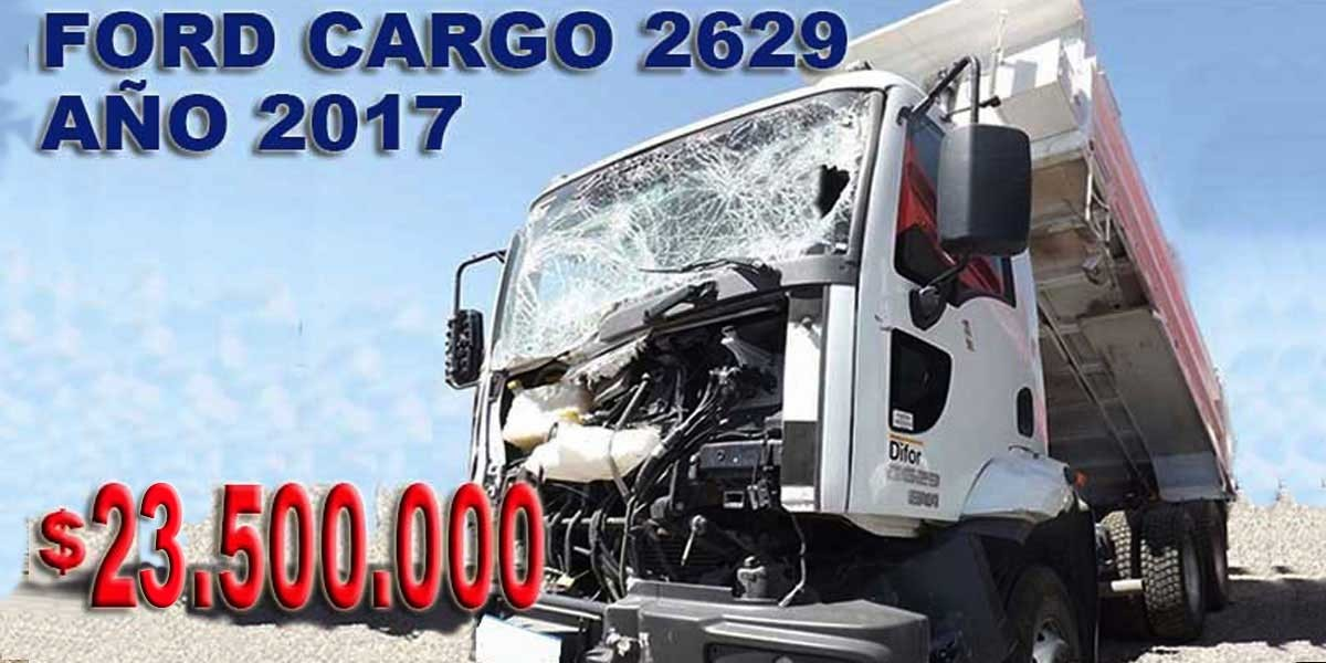 FORD CARGO 2629 2017