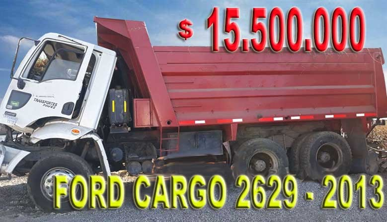 FORD CARGO 2629 2013