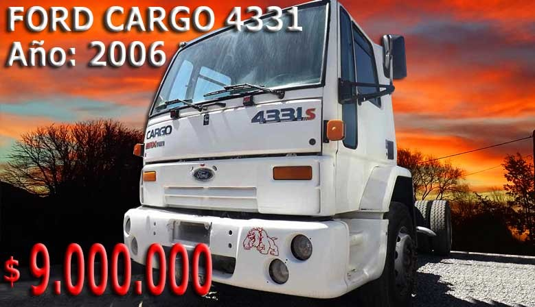 FORD CARGO 4331s 2006