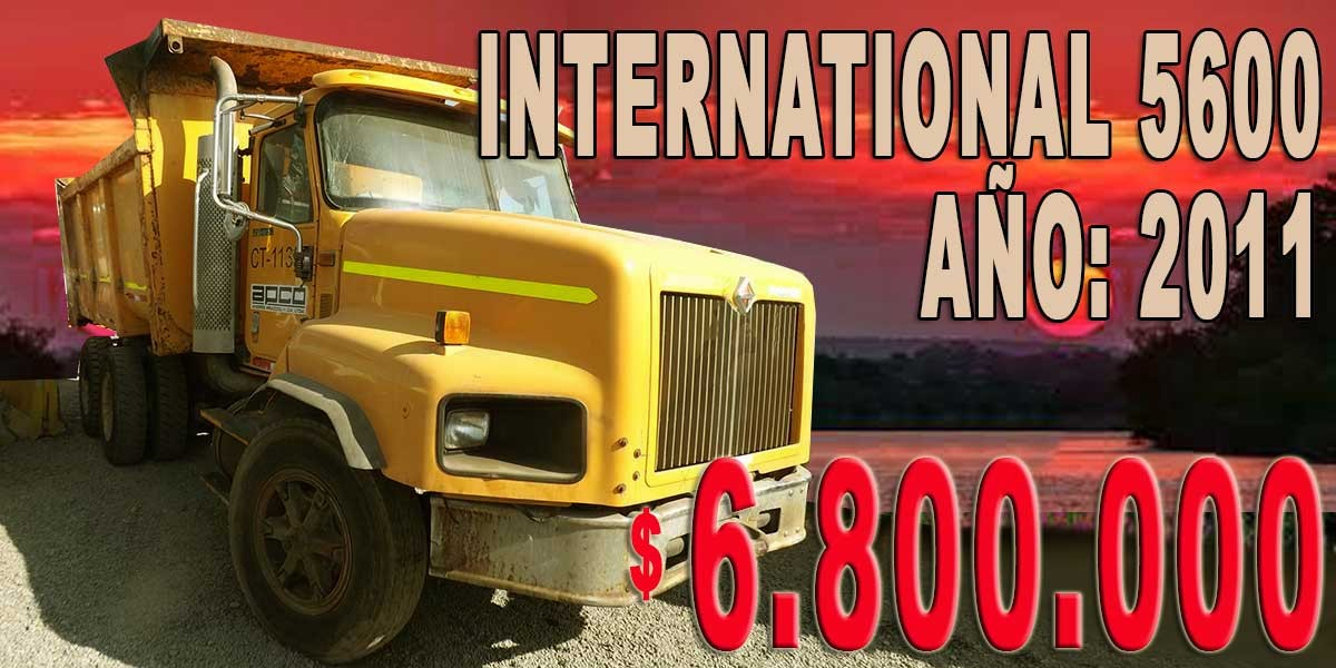 INTERNATIONAL 5600 / AÑO: 2011